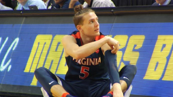 Virginia freshman guard Kyle Guy's 'man bun' has gotten a lot of attention from both UVA fans and the opposing team's supporters. But, his play on the court is what is the most impressive.