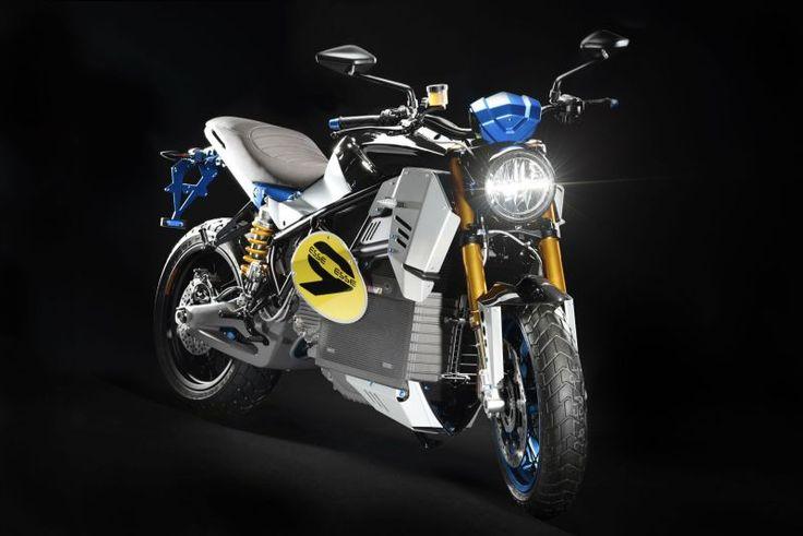 Sepeda motor listrik konsep EsseEsse9 dari Energica diperkenalkan di EICMA 2016 (Visordown)
