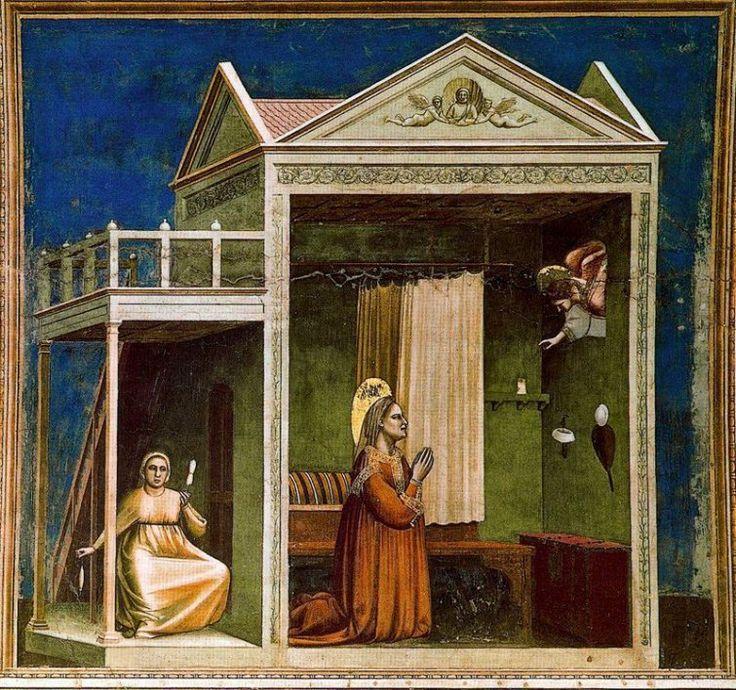 El anuncio a Santa Ana (1305) Giotto di Bondone