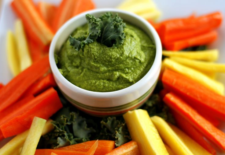 Hummus is delicious and this beautiful green hummus will add colour to your serving plate. This variation of the traditional hummus is great served as an dip with vegetables, on a sandwich, in a wr...