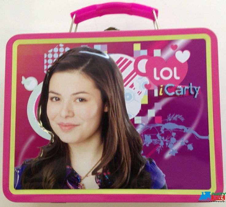 Partytoyz Inc. - iCarly Square Carry All Tin Stationery Lunch Box - Pink, $7.99 (http://www.partytoyz.com/icarly-square-carry-all-tin-stationery-lunch-box-pink/)