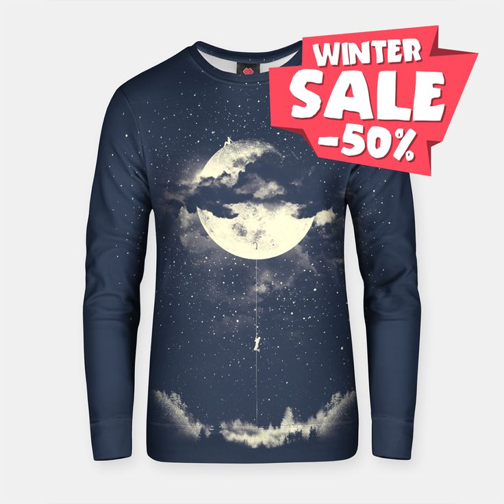 Climb to the #moon in the light of night.🧗🌕 Moon climbing sweater and other stuff You can have with -50% now at Live Heroes.😯👍 Enjoy our winter #sale! https://liveheroes.com/en