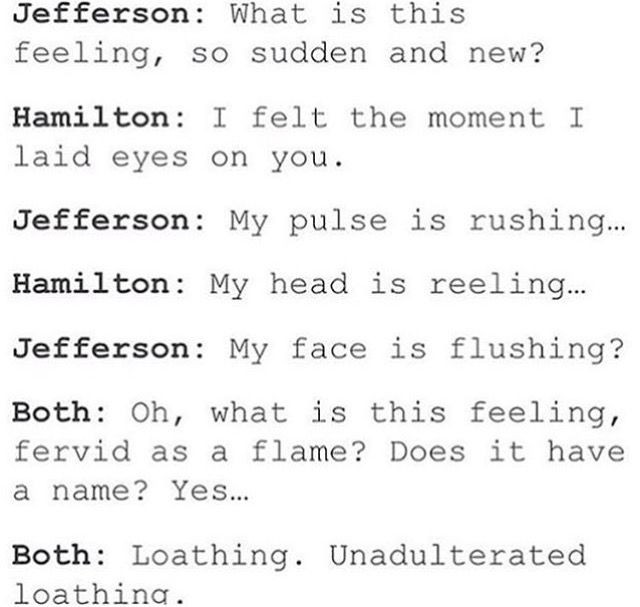 Wicked/Hamilton crossover. That awkward moment when you realize Jefferson wears pink and Hamilton wears green<<<IT WAS MEANT TO BE