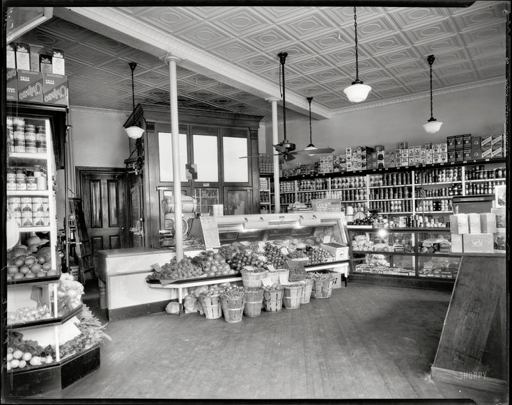 a history of supermarkets Mrs charles hartle shops the dairy aisle at kroger in 1960.