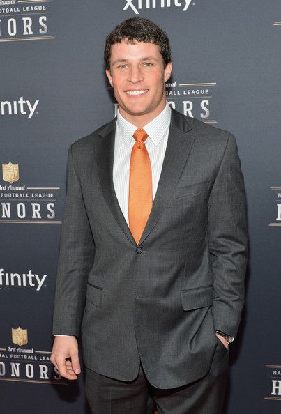 Player of the Year recipient, Carolina Panthers middle linebacker Luke Kuechly