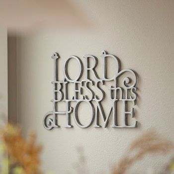 Bless This Home - Wall Art image Regular Price $44.99. Markdown Price: $17.99--60% off! http://www.shareasale.com/u.cfm?d=232592&m=25848&u=1016572