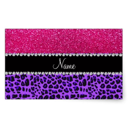 Best Leopard Print StampLabelSticker Images On Pinterest - Custom glitter stickers
