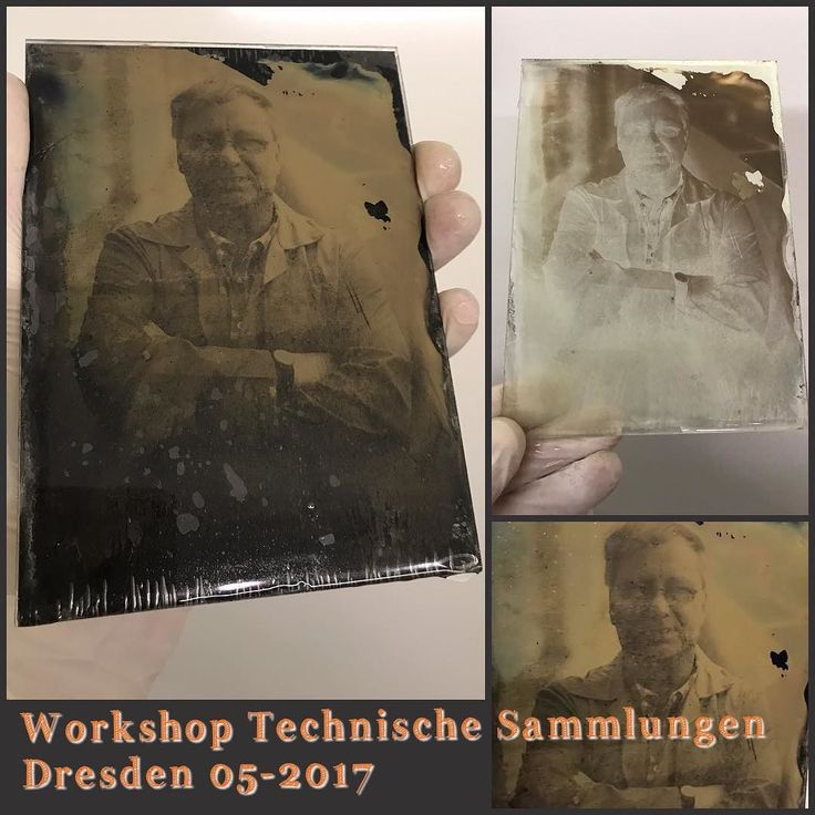 Our test plate made during our wet plate collodion basic workshop in Technical museum in Dresden Germany May 2017.  Naše testovací fotografie vytvořená během základního kolodiového workshopu který jsem prováděl v Technickém muzeu v Drážďanech Německo květen 2017.  #wetplate #collodion #workshop #dresden #museum #Germany #ambrotypeportrait
