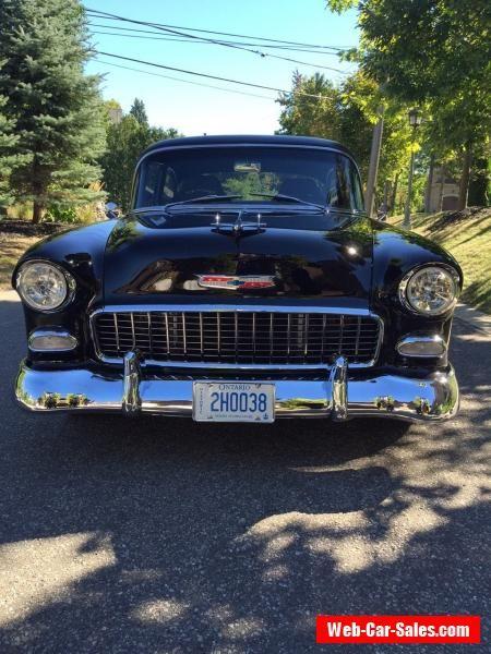 1955 Chevrolet Bel Air/150/210 Del Ray #chevrolet #belair150210 #forsale #canada