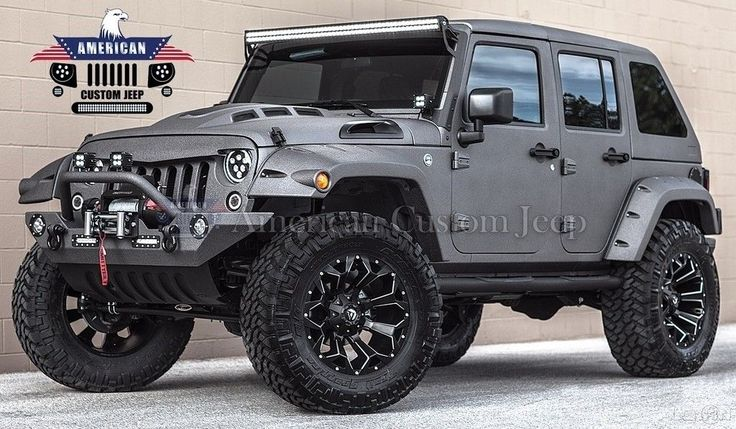 2017 Jeep Wrangler Custom Unlimited Sport Utility 4Door