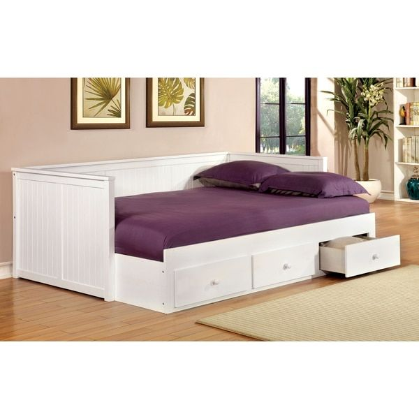 Furniture of America Ophelia Cottage Style Full-size Storage Daybed - Best 25+ Full Size Daybed Ideas On Pinterest Full Daybed