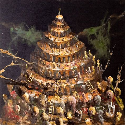 Håkon Gullvåg's work will feature in a major exhibition in St Magnus Cathedral - This is Tower of Babel