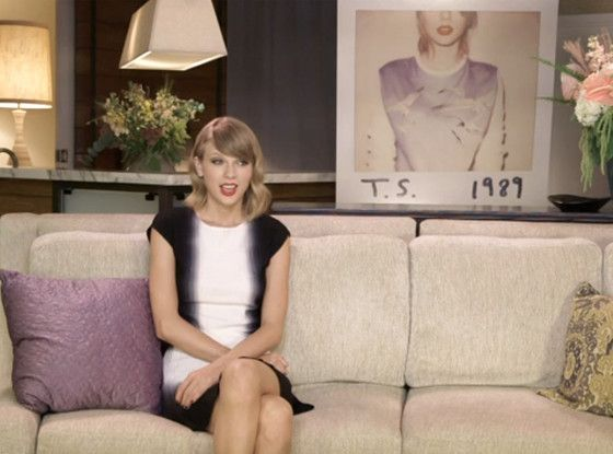 """SHUT UP TAYLOR. WE'RE ONLY TALKING BECAUSE YOU ARE TAYLOR. Also I'm pretty sure you only recently decided you were a feminist, so to quote Inigo Montoya """"I don't think that word means what you think it means."""" - Taylor Swift Talks New Single ''Welcome to New York,'' Says It's ''Very Sexist'' to Claim She Only Writes About Exes  Taylor Swift"""