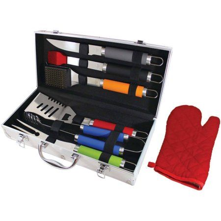 Chef Basics Select Hw5323 7-Piece Bbq Tool Set, Multicolor