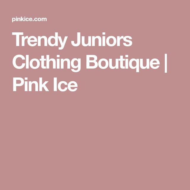 Trendy Juniors Clothing Boutique | Pink Ice #juniorstrendyclothes