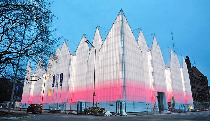Filharmonia Szczecińska najlepszym budynkiem Europy nagroda Unii Europejskiej dla współczesnej architektury Miesa van der Rohe