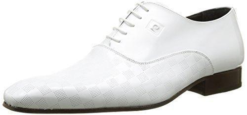 Oferta: 171.42€. Comprar Ofertas de Pierre CardinJasper - zapatos con cordones Hombre , Blanco (Blanc (Verstamp Blanc)), 43 barato. ¡Mira las ofertas!