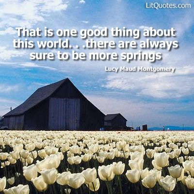 anne of green gables spring quotes - Google Search
