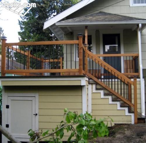 1000 images about under deck storage ideas on pinterest for Under porch ideas