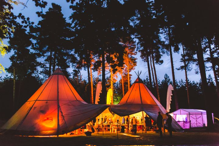 Ruth and Ian's Magical Forest Festival Wedding By Andy Li Photography
