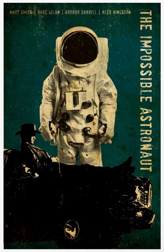 impossible astronaut poster fan made - photo #11
