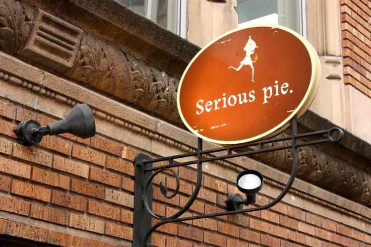 Serious Pie pizza, Seattle Washington. Ridiculous!