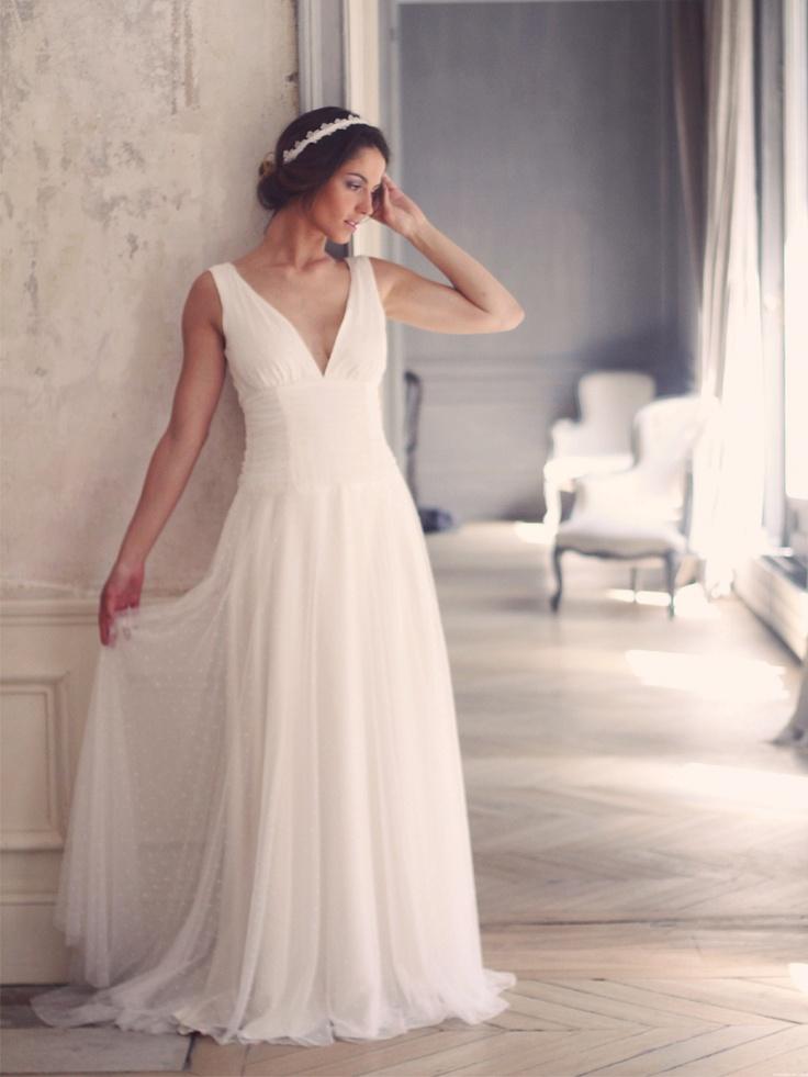 robes de mariée #paulinefranque #marielaporte #marinagmakeup