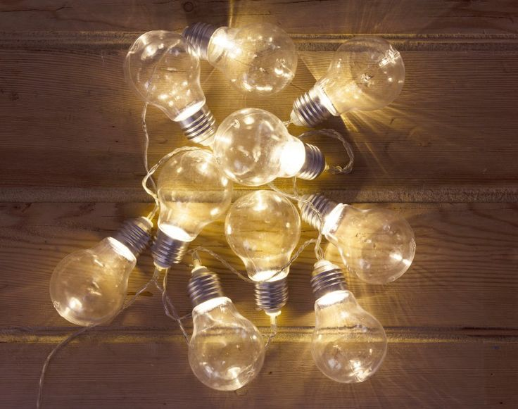George Home Bulb String Lights GBP1000 These Quirky In The Shape Of