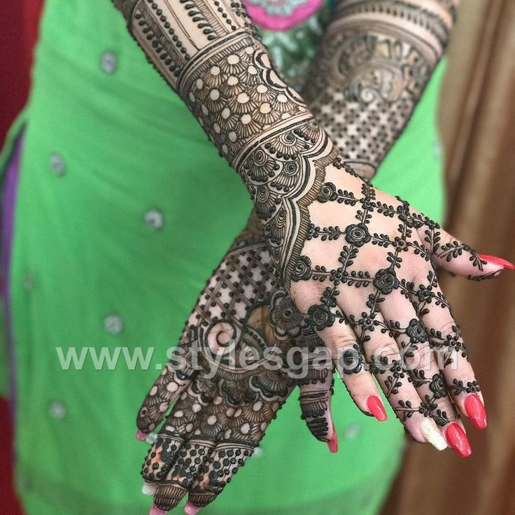 Latest Arabic Mehndi Designs Henna Trends 2017-2018 Collection (15)