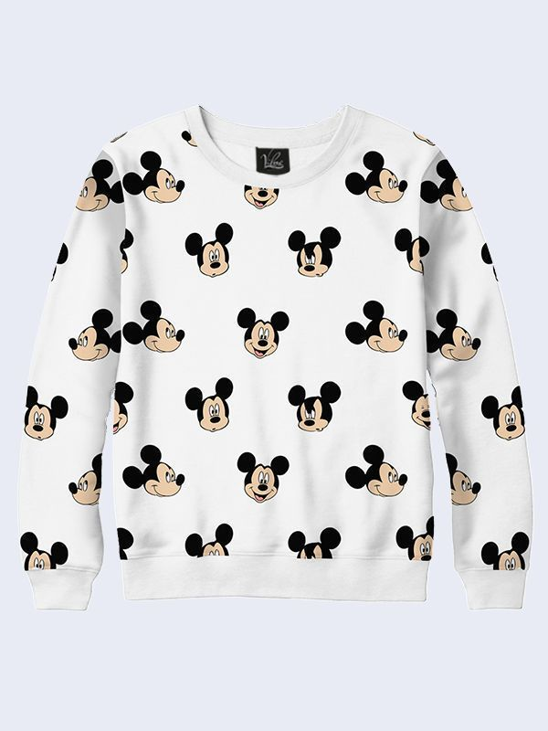 Disney Baby Mickey Mouse or Minnie Mouse Toddler Fashion Sweat Shirt Hoodie #TMVilno #BasicTee