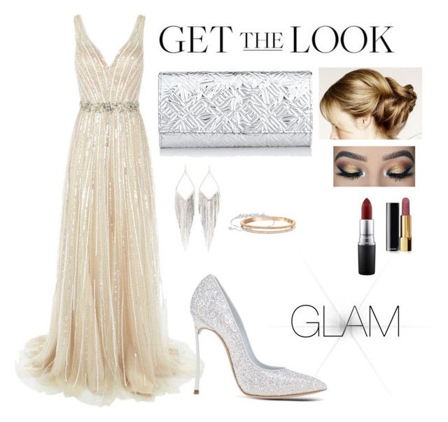 """Get the Look: Met Gala 2016"" by andini-rachma on Polyvore featuring Jovani, Casadei, Kenzo, Jules Smith, Swarovski, MAC Cosmetics, Chanel, GetTheLook and MetGala"