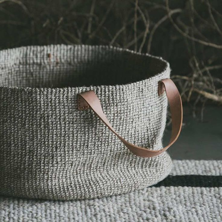 Jute Baskets | The Society inc. by Sibella Court