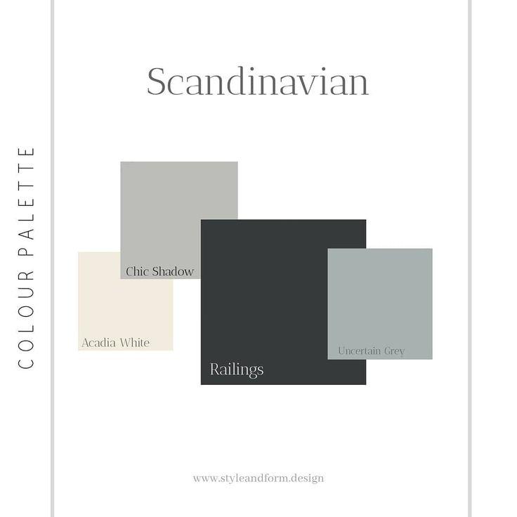 Scandinavian Interior Design Style A Basic Colour Palette To Get You Starte Color Palette Interior Design Interior Design Basics Scandinavian Interior Design