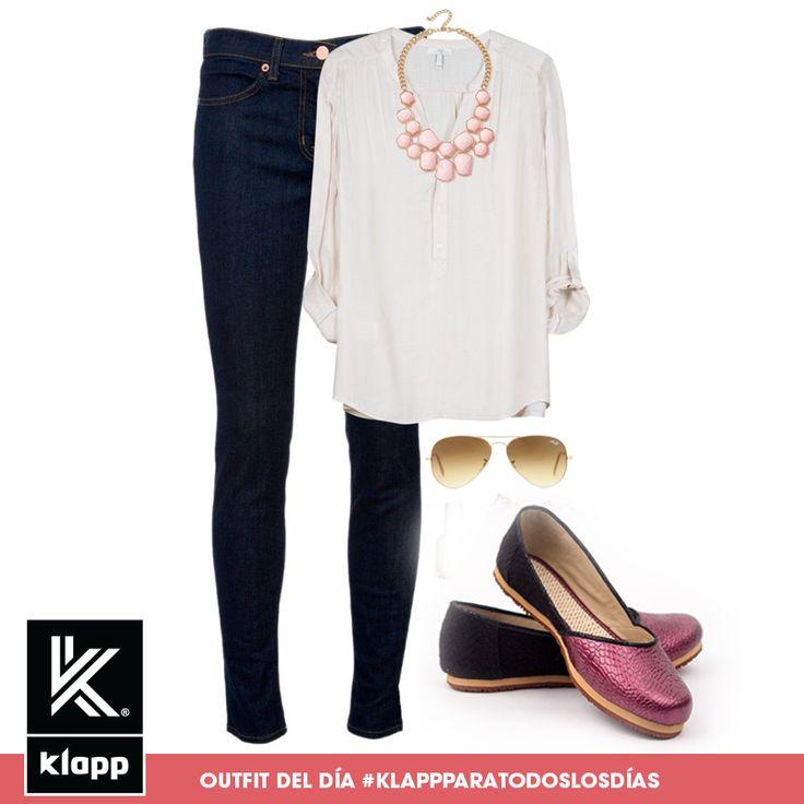 #Klapp te aconseja utilizar prendas frescas y cómodas pero que también te hagan ver guapa! #AmomisKlapp #outfitdeldía