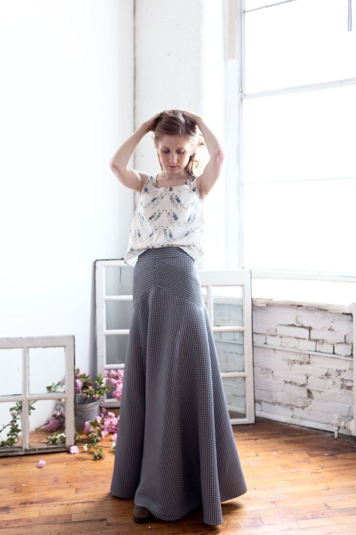 What i Made: The Gabriola (The Perfect Maxi Skirt Pattern)