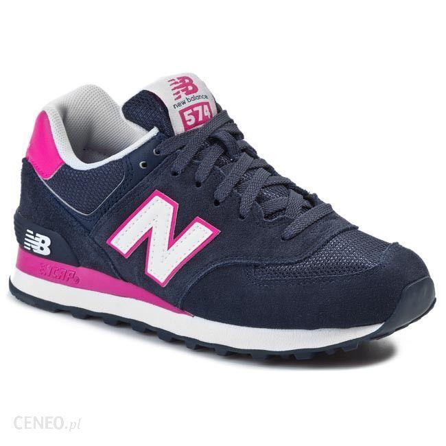 Polbuty New Balance Wl574cpn Granatowy Rozowy Ceny I Opinie Ceneo Pl Shoes New Balance Sneaker New Balance