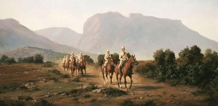 Columna de Cazadores, obra de Augusto Ferrer-Dalmau