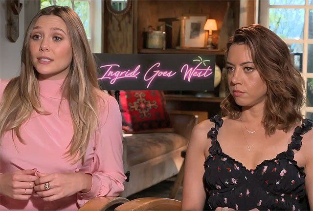CS Video: Aubrey Plaza & Elizabeth Olsen on Ingrid Goes West   CS Video: Aubrey Plaza & Elizabeth Olsen on Ingrid Goes West  ComingSoon.net talked toAubrey Plaza and Elizabeth Olsen about the new dark comedyIngrid Goes West opening in theaters on August 11. Check out our exclusive video interview with them in the player below!  InIngrid Goes West Ingrid Thorburn (Plaza) is an unhinged social media stalker with a history of confusing likes for meaningful relationships. Taylor Sloane (Olsen)…
