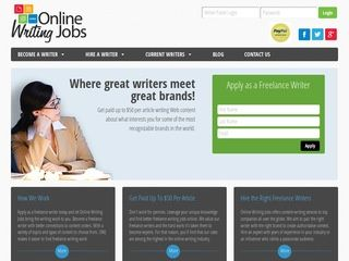 Paid for writing articles uk