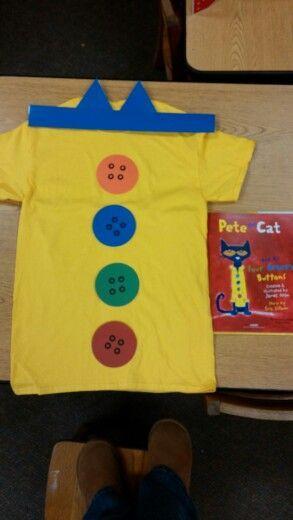 Pete The Cat Mascot Costume