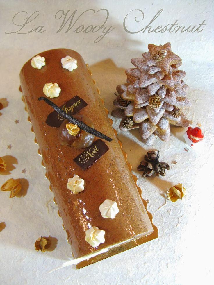 Bûche Noël  - Woody Chestnut