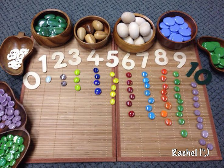Counting with pebbles - from Rachel ≈≈