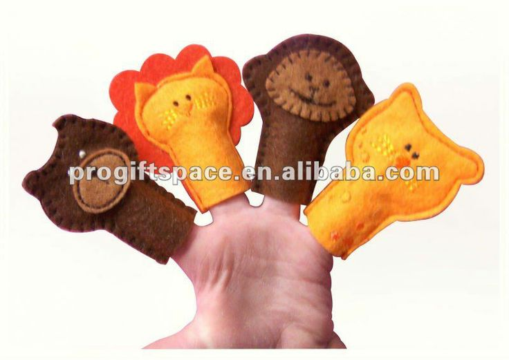 Newest Handmade Felt Hand Puppets for Sale - High Quality Animal Shaped Finger Puppets for Kids - OEM & ODM Welcomed