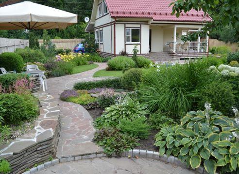 Сад Дмитрия Патрикеева, ландшафтный дизайн малого сада