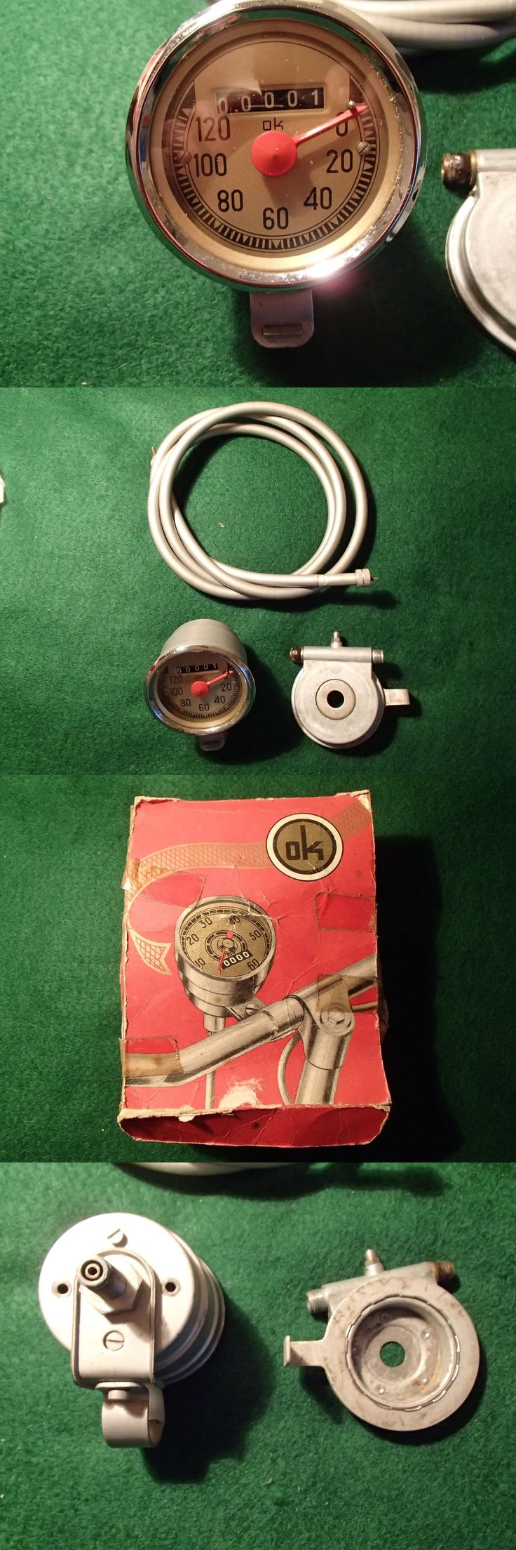 Vintage Bicycle Parts 56197: Vintage Ok Brand French Speedometer Kit (Nos) -> BUY IT NOW ONLY: $47.5 on eBay!
