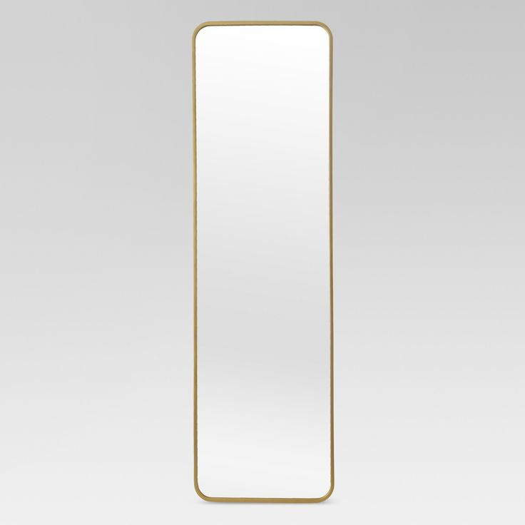 Over-the-Door Mirror Metal Brass - Project 62
