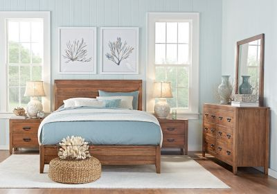 Palm Grove Brown 5 Pc King Panel Bedroom . $1,088.00.  Find affordable Bedroom Sets for your home that will complement the rest of your furniture.#iSofa #roomstogo
