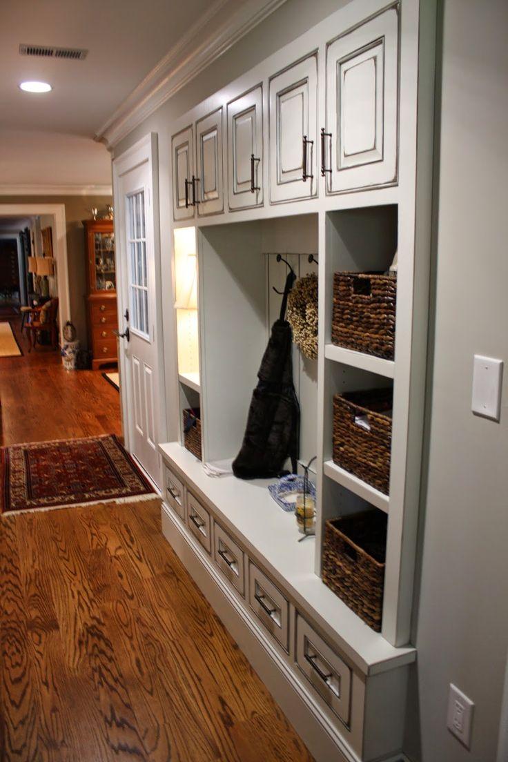 Mudroom Quot Drop Zone Quot Home Living Room Drop Zone Home