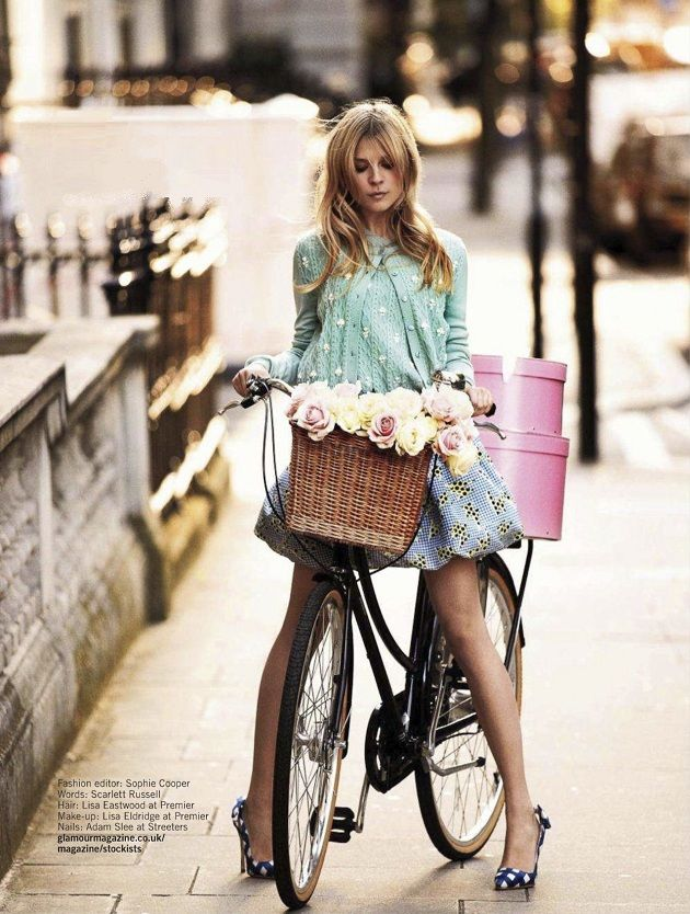 clemence poesy by david oldham for glamour uk