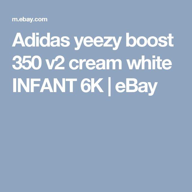 Adidas yeezy boost 350 v2 cream white INFANT 6K  | eBay
